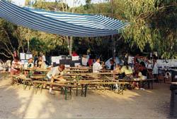 unser Marktplatz im Camp